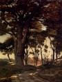 Woo Barbizon landscape Henri Joseph Harpignies woods forest