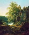 view of valaam island 1858 classical landscape Ivan Ivanovich forest