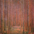 Fir Forest I Gustav Klimt