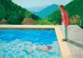 David Hockney Portrait of an Artist Pool with Two Figures