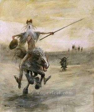 modern Painting - DON QUICHOTTE 2 MP Modern