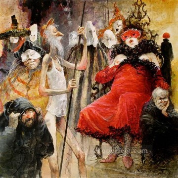 Modern Painting - Don Quichotte Mascarade MP Modern