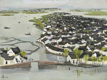 modern Painting - THE HOMETOWN OF LU XUN Modern