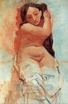La coiffur 1906 Abstract Nude Oil Paintings