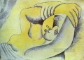 Nude on a Beach 1929 Abstract