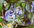 Luncheon on the Grass After Manet 1961 Abstract Nude
