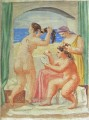 La coiffure 1 1922 Abstract Nude