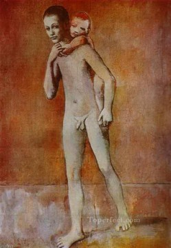 Two brothers 1905s Abstract Nude Oil Paintings