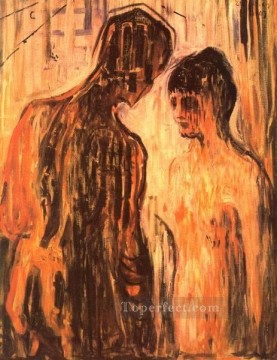 Abstract Nude Painting - cupid and psyche 1907 Abstract Nude