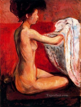 nude Painting - paris nude 1896 Abstract Nude