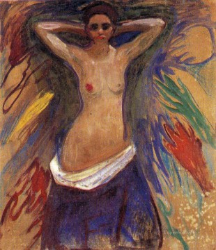 Abstract Nude Painting - the hands 1893 Abstract Nude
