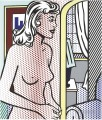 Nude in Apartment Abstract