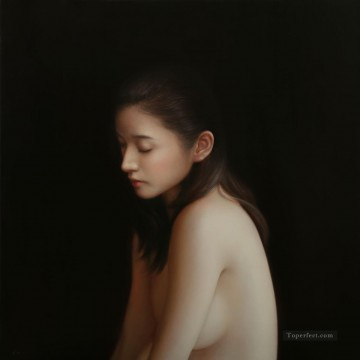 shadow  Chinese nude Oil Paintings
