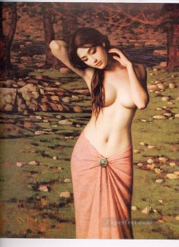 nd0053bD Chinese female nude Oil Paintings
