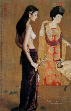 Guan ZEJU 14 Chinese girl nude Oil Paintings