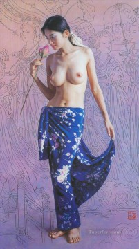 Guan ZEJU 15 Chinese girl nude Oil Paintings