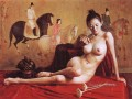 Lady of Guoguo on a Spring Outing Chinese Girl Nude