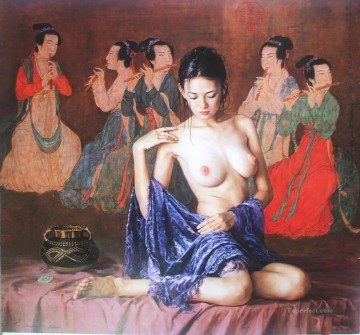 Guan ZEJU 05 Chinese girl nude Oil Paintings