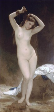 1870 Canvas - Baigneuse 1870 William Adolphe Bouguereau nude