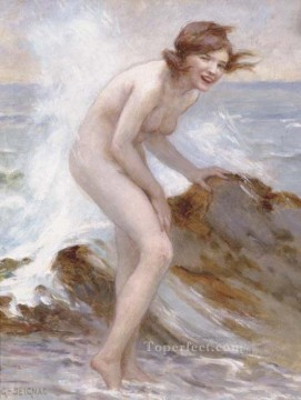 nude Painting - Bather Guillaume Seignac classic nude