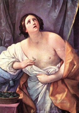 Guido Oil Painting - Cleopatra Guido Reni nude