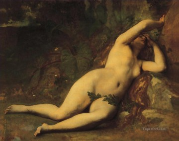 Eve after the fall Alexandre Cabanel nude Oil Paintings