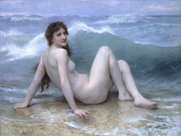La vague William Adolphe Bouguereau nude Oil Paintings