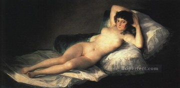 Maja Art - Nude Maja portrait Francisco Goya