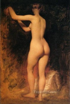 Nude Study female body William Etty Oil Paintings