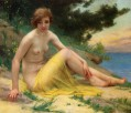 Nude at the Beach On the Shore Nu Sur La Plage Guillaume Seignac classic nude
