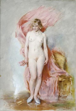 Artworks in 150 Subjects Painting - Nude in an Interior Guillaume Seignac classic nude