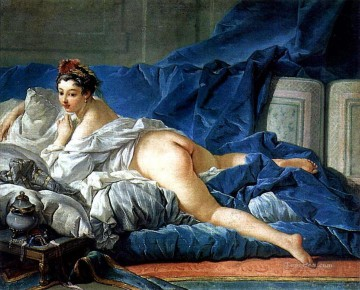 Odalisque Francois Boucher Classic nude Oil Paintings