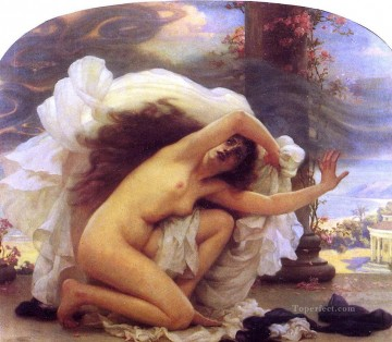 Classic Nude Painting - Pandora Ernest Normand Classical Nude