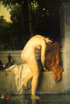 The Chaste Susannah nude Jean Jacques Henner Oil Paintings