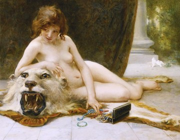 The Jewel Case Guillaume Seignac classic nude Oil Paintings