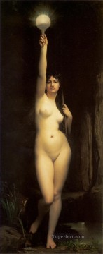 Classic Nude Painting - Truth female body nude Jules Joseph Lefebvre