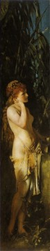 die funf sinne gehor nude Hans Makart Oil Paintings