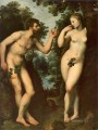 Adam and Eve Peter Paul Rubens nude