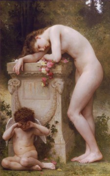 Classic Nude Painting - Douleur damour William Adolphe Bouguereau nude