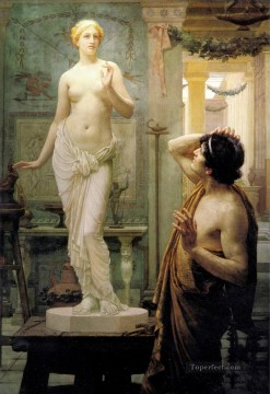 Classic Nude Painting - Pygmalion and Galatea Ernest Normand Classical Nude