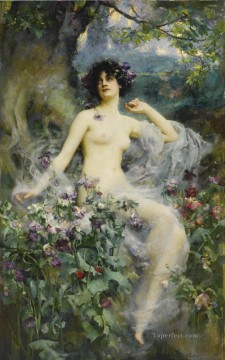 Song Art - SONGS OF THE MORNING Henrietta Rae Classical Nude