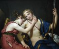 The Farewell of Telemachus and Eucharis Jacques Louis David nude