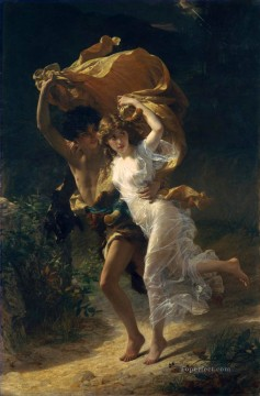 Artworks in 150 Subjects Painting - The Storm Pierre Auguste Cot classic nude