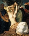 The Toilet Of Esther romantic Theodore Chasseriau nude