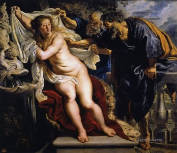 susanna and the elders 1610 Peter Paul Rubens nude Oil Paintings