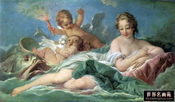 venus Painting - Birth of Venus Francois Boucher Classic nude