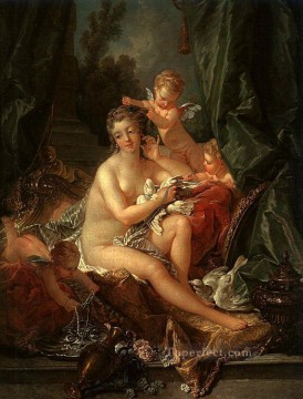 venus Painting - The Toilet of Venus Francois Boucher nude