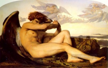 Fallen Angel Alexandre Cabanel nude Oil Paintings