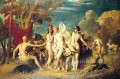 The Judgement of Paris William Etty nude