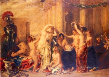 Venus And Her Satellites William Etty nude Oil Paintings
